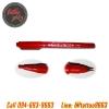 ปากกาเขียนลายสักสีแดง ปากกาวาดลายสัก ปากการ่างลายเส้นก่อนสัก ปากกามาร์คเกอร์คุณภาพสูง สีติดผิวแน่น Tattoo Pen / Skin Marker / Marking Scribe Pen (Red)