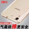 (พรีออเดอร์) เคส Huawei/Y6II-เคส TPU มีปลั๊กฝุ่น