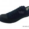 [พร้อมส่ง] รองเท้าผ้าใบแฟชั่น รุ่น 191 สีดำล้วน