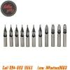 เซ็ทปลายกระบอกเข็มสัก ปลายสแตนเลส 11 เบอร์ Stainless Steel 301 Tattoo Needle Mouth (3Rt,5Rt,7Rt,9Rt,5Ft,7Ft,9Ft,11Ft,3Dt,5Dt,8Dt)