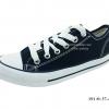 [พร้อมส่ง] รองเท้าผ้าใบแฟชั่น รุ่น 191 สีดำ