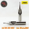 [7RT] ปลายกระบอกเข็มสัก ปลายสแตนเลสเบอร์ 7RT 304 Stainless Steel Tattoo Needle Mouth (1 PC)