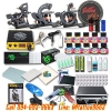 [SET B2] ชุดเครื่องสักคอยล์ Triple เครื่องสักลายครบชุด พร้อมอุปกรณ์สัก หมึกสัก สีสัก เข็มสัก (DragonHawk Pro-3 Tattoo Machine Set)