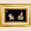 ของที่ระลึก กรอบทองคู่ลายไทย A19 A17 (ขนาด : 6 x 8 นิ้ว )