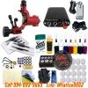 [SET C1A] ชุดเครื่องสักโรตารี่ Single Dragonfly V3 เครื่องสักมอเตอร์งานลงเส้น/ลงเงา เครื่องสักลายครบชุด พร้อมอุปกรณ์สัก หมึกสัก สีสัก เข็มสัก (Red Rotary Pro-1 Dragonfly Motor Tattoo Machine 3rd Generation Set)