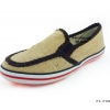 [พร้อมส่ง] รองเท้าผ้าใบแฟชั่น รุ่น 156 สีกระสอบ แบบสวม