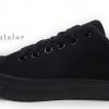 [พร้อมส่ง]รองเท้าผ้าใบแฟชั่น สีดำล้วน Leo รุ่น 955D