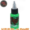 [WORLD FAMOUS] หมึกสักเวิล์ดเฟมัส หมึกสักลายเวิล์ดเฟมัส สีสักลายสีเขียว ขนาด 1 ออนซ์ สีสักนำเข้าจากประเทศอเมริกา World Famous Tattoo Ink - Ireland Green (1OZ/30ML)