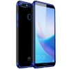 (พรีออเดอร์) เคส Huawei/Y7 Pro 2018-เคส TPU นิ่มขอบสี
