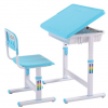 ชุดโต๊ะหนังสือเด็ก Smart Kids Desk สีฟ้า