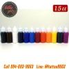 [SET 12COLORS/15CC] ชุดหมึกสักลายแบ่งขายคละสี 12 สี หมึกสัก สีสักลาย ขนาด 1/2 ออนซ์ Tattoo Ink Set (15ML - 12PC)