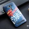 """เคส asus zenfone 2 laser 5.5 """" ze550kl TPU พิมพ์ลาย 3D I'M NO SUPERMAN"""