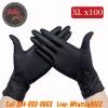 ถุงมือยางอย่างหนาสำหรับสักไซส์ XL ถุงมือไนไตร100ชิ้น ถุงมือยางไนไตร Professional Nitrile Tattoo Artists Gloves (Size XL - 100PCS)