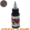 [WORLD FAMOUS] หมึกสักเวิล์ดเฟมัส หมึกสักลายเวิล์ดเฟมัส สีสักลายสีดำ ขนาด 1 ออนซ์ สีสักนำเข้าจากประเทศอเมริกา World Famous Tattoo Ink - Pitch Black (1OZ/30ML)