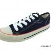 [พร้อมส่ง] รองเท้าผ้าใบแฟชั่น รุ่น 191 สียีนส์ดำ