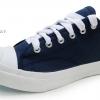 [พร้อมส่ง]รองเท้าผ้าใบแฟชั่น LEO JACK สีกรม