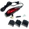 [SONAR V.1] แบตตาเลี่ยนตัดผมชนิดมีสาย ปัตตาเลี่ยนไฟฟ้าสีแดง แบตเตอร์เลี่ยนเด็ก แบตเตอเลี่ยนตัดผมเด็กชาย เครื่องตัดผม RED Professional Electric Hair Clipper For Men & Women