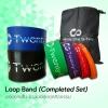 ยางยืดออกกำลังกายแบบห่วง Loop Band Black (Completed Set)