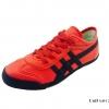 [พร้อมส่ง] รองเท้าผ้าใบแฟชั่น รุ่น Uni5 สีแดง แบบหนัง