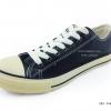 [พร้อมส่ง] รองเท้าผ้าใบแฟชั่น รุ่น 888 สีน้ำตาล แบบหนัง