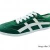 [พร้อมส่ง] รองเท้าผ้าใบแฟชั่น รุ่น Osaga สีเขียว