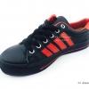 [พร้อมส่ง] รองเท้าผ้าใบแฟชั่น รุ่น F4 สีดำแดง