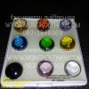 เพชรพญานาค ชุด 9 มงคล ( 9องค์ 9สี )