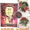หนังสือสักลายพระพุทธเจ้า หนังสือสักลาย รูปรอยสักสวยๆ สักลายสวยๆ ภาพสักสวยๆ แบบลายสักเท่ๆ แบบรอยสักเท่ๆ ลายสัก Japannese Style Tattoo Manuscripts Flash Art Design Outline Sketch Book (A4 SIZE)