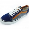 [พร้อมส่ง] รองเท้าผ้าใบแฟชั่น รุ่น E-8 สีเทากรม