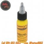 [ETERNAL INK] หมึกสักอีเทอนอลสีเหลือง หมึกสักลายอีเทอนอล สีสักลายสีเหลือง ขนาด 1 ออนซ์ TATTOO INK ( BUMBLE BEE - 1OZ)