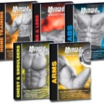 DVD สอนเล่นกล้าม (Muscle Fitness Training System) 5 DVDs
