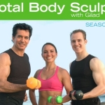Total Body Sculpt Season 1 with Gilad 5 DVDs