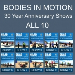 Bodies in Motion 30 Year Anniversary Shows with Gilad - 2 DVDs