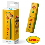 Wii U Wii Remote Plus Controller Yellow Bowser Koopa Version