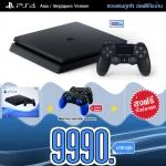 PS4 Slim 500GB (Asia-Singapore) ส่งฟรี ราคา 9990.-