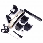 [SONAR] ชุดปัตตาเลี่ยนพร้อมกรรไกรตัดผมและหวีรองปัตตาเลี่ยน แบตเตอร์เลี่ยนไร้สาย แบตตาเลี่ยนตัดผมด้วยตัวเอง แบตเตอเลี่ยนตัดผม เครื่องตัดผม Imported Titanium Steel Knife Mold Hair Clipper For Men & Women
