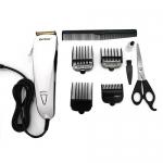 [KEMEI] แบตเตอร์เลี่ยนตัดผมชนิดมีสาย ปัตตาเลี่ยนไฟฟ้า ปัตตาเลี่ยนคมมีสาย แบตเตอเลี่ยนตัดผมชาย แบตตาเลี่ยนเด็ก อุปกรณ์ตัดผม ที่ตัดผมชาย WHITE Professional Electric Hair Clipper For Men & Women (4803)