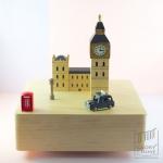 กล่องเพลง London ♫ Leise Rieselt Der Schnee ♫ กล่องดนตรี Wooderful Life