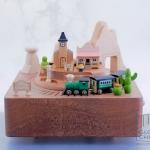กล่องเพลงรถไฟเวสเทิร์น ♫ Oh My Darling Clementine ♫ กล่องดนตรี Wooderful Life