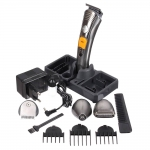 [BARWN] ปัตตาเลี่ยนตัดผม 7in1 แบตตาเลี่ยนไร้สาย แบตเตอเลี่ยนโกนหนวด แบตเตอร์เลี่ยนไฟฟ้า เครื่องโกนขนจมูก Rechargeable 7-in-1 Grooming Kit Multifunctional Hair Beard Nose Clipper Trimmer For Men & Women