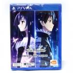 PS Vita™ Accel World VS. Sword Art Online Zone 3 Asia, English ราคา 1790.- ส่งฟรี EMS + แถมพวงกุญแจ