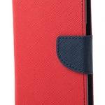 เคส asus zenfone 6 ฝาพับ ฝาปิด mercury fancy diary case สีแดง