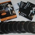 Train Fit Total Boby Transformation 8 DVDs Boxset