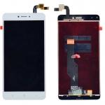 ราคาหน้าจอชุด+ทัสกรีน Xiaomi Redmi note 4X อะไหล่เปลี่ยนหน้าจอแตก ซ่อมจอเสีย สีขาว