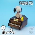 SNOOPY กล่องเพลงเปียโน สนูปี้ ♫ Canon In D (Intro) ♫ กล่องดนตรี Wooderful Life