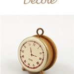 Decole Clock Stamp