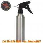 [250ML/8.45OZ] ขวดสเปรย์ฉีดน้ำอลูมิเนียมสีเงิน กระบอกฉีดน้ำอลูมิเนียม ฟ็อกกี้ ขนาด250มล. Empty Silver Aluminium Spray Bottle