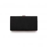 กระเป๋าถือออกงานสีดำ ทรงสี่เหลี่ยม