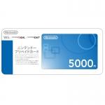 บัตรเติมเงิน eShop ญี่ปุ่น 5000 เยน (22-07-2017)