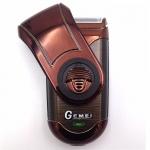 [GEMEI] เครื่องโกนหนวดไฟฟ้าสีน้ำตาล ที่โกนหนวดไฟฟ้า เครื่องโกนหนวดไร้สาย ที่แต่งหนวดเครา เครื่องแต่งหนวดสำหรับผู้ชาย BROWN Cordless Rechargeable Electric Shaver for Men